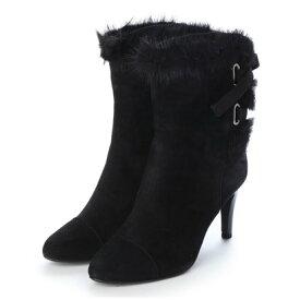 【アウトレット】ストロベリーフィールズ STRAWBERRY FIELDS ブーツ (ブラックスエード)