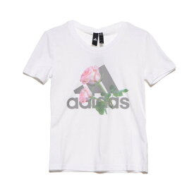 アディダス adidas レディース 半袖Tシャツ WMHビッグロゴフラワーTシャツ ED6159