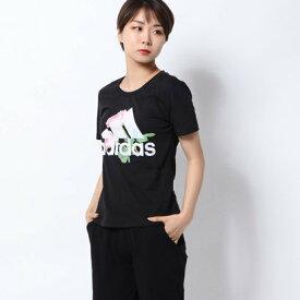 アディダス adidas レディース 半袖Tシャツ WMHビッグロゴフラワーTシャツ ED6160