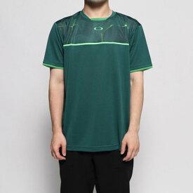 オークリー OAKLEY メンズ テニス 半袖Tシャツ PC DRY Hybrid Crew 458151JP