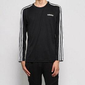 【アウトレット】アディダス adidas メンズ 長袖機能Tシャツ MCORE3ストライプスロングスリーブTシャツ EI5647