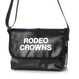 ロデオクラウンズ RODEO CROWNS TARPAULIN FLAP SHOULDER C06-1-00023 (ブラック)