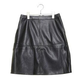 【アウトレット】テチチ アウトレット Te chichi outlet Fレザースカート (ブラック)