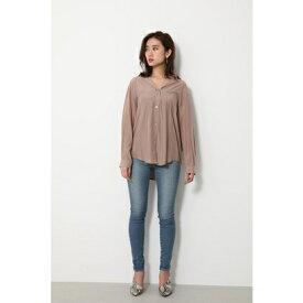 リエンダ rienda BASICシャツ (ベージュ)