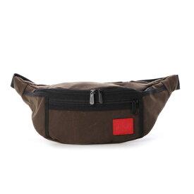 マンハッタンポーテージ Manhattan Portage CORDURA Waxed Nylon Fabric Collection Alleycat Waist Bag (D.Brown)