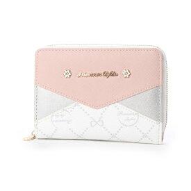 プリムヴェールリズリサ Primevere LIZ LISA シェリー プリント配色折り財布 (32)