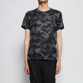 アディダス adidas メンズ 陸上/ランニング 半袖Tシャツ オウン ザ ラン カモTシャツM FJ3876