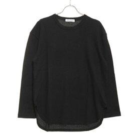 スタイルブロック STYLEBLOCK ワッフルロング丈長袖ビッグTシャツ (ブラック)