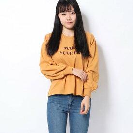 レトロガール RETRO GIRL フロッキーロゴTee (イエロー)