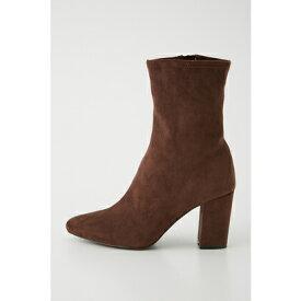 リエンダ rienda slim fit midi boots (ブラウン)