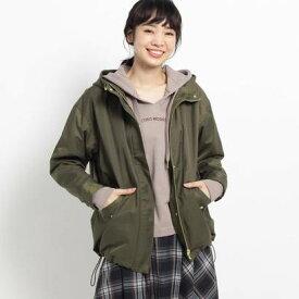 ザ ショップ ティーケー ウィメンズ THE SHOP TK(Women) 【撥水】マウンテンパーカー (カーキ)