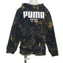 プーマ PUMA ジュニア スウェットパーカー ALPHA AOP フーディー FL 580917
