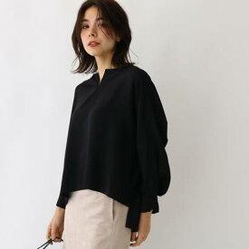 アクアガール aquagirl エステルダブルクロスシャツ (ブラック)