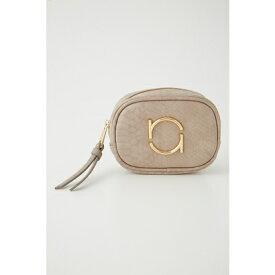 リエンダ rienda r plate mini pouch (ライトベージュ)