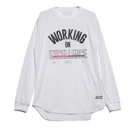 アンダーアーマー UNDER ARMOUR バスケットボール 長袖Tシャツ UA SC30 TECH STACK LOGO LS 1346806