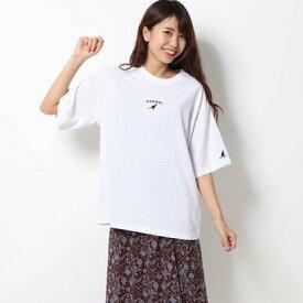 ラナン Ranan (KANGOL)ミニロゴTシャツ (オフホワイト)