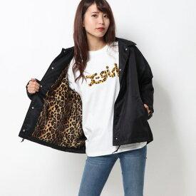 エックスガール X-girl PATCH COACH JACKET (BLACK)