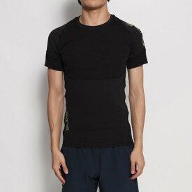【アウトレット】スキンズ SKINS メンズ フィットネス 半袖コンプレッションインナー スキンフィットS/Sシャツキリカエ KMMOJA54