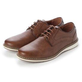 ブラッチャーノ Bracciano シューズ メンズ PUレザーカジュアル ビジカジ コンフォート靴 (BROWN)