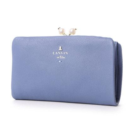 ランバン オン ブルー LANVIN en Bleu シャペル 口金2つ折り財布 (ブルー)