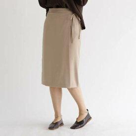 アクアガール aquagirl ウエストリボンラップスカート (ナチュラル)