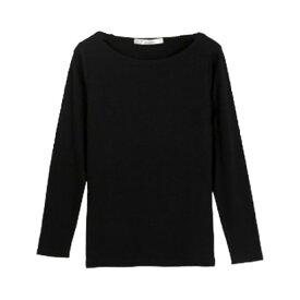 コウベレタス KOBE LETTUCE 前身二重長袖Tシャツ 【Bネック】(ブラック)