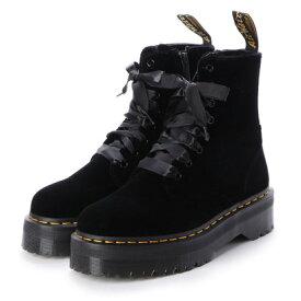 ドクターマーチン Dr.Martens ジェイドン ベルベット 8ホール ブーツ (JADON VELVET 8HOLE BOOTS)24761001 (BLACK)