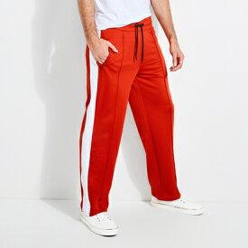 ゲス GUESS KEITH LOGO TRACK PANTS (PRIMAL RED)
