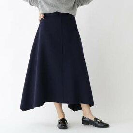 ドレステリア DRESSTERIOR Aラインジャージスカート (ネイビー)