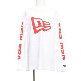 ニューエラ NEW ジュニア ERA 長袖Tシャツ TEE 12108253 ホワイト APP 12108253