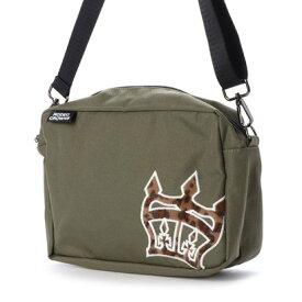 ロデオクラウンズ RODEO CROWNS Animal2 SQUARE BAG C06-1-00040 (カーキ)