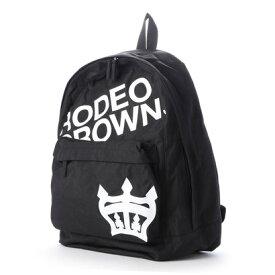ロデオクラウンズ RODEO CROWNS LOGO BACK PACK BACK PACK C06-1-00041 (ブラック)
