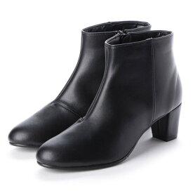 バニティービューティー VANITY BEAUTY 【晴雨兼用仕様】プレーンショートブーツ (ブラック)