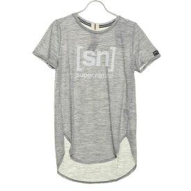 エスエヌスーパーナチュラル sn super.natural レディース フィットネス 半袖Tシャツ W Yoga New Japan Tee Print SNW015203