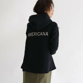 アクアガール aquagirl 【STORY11月号掲載】【別注】Americana テントラインパーカー (ブラック)