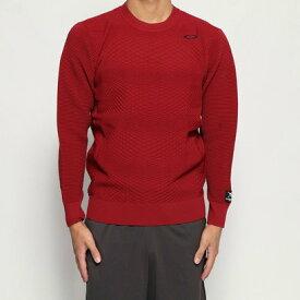 オークリー OAKLEY メンズ ゴルフ 長袖セーター SKULL SINUOUS SWEATER CREW 461793JP