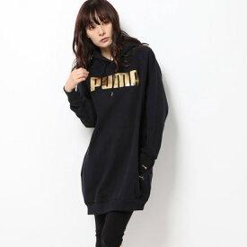 プーマ PUMA レディース ワンピース Holiday スウェット ドレス 582312