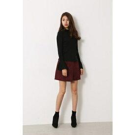 リエンダ rienda Lace bonding J/W SK (ダークレッド)