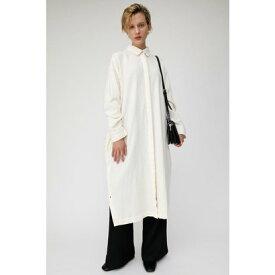 マウジー moussy CREPE SHIRT DRESS (アイボリー)