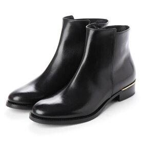 ルカ グロッシ LUCA GROSSI メタルポイントスムースショートブーツ (ブラック)
