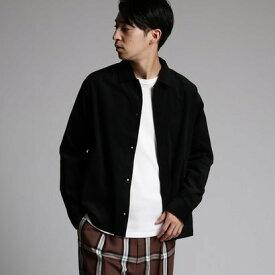 ティーケー タケオ キクチ tk.TAKEO KIKUCHI コーデュロイオーバーシャツ (ブラック)