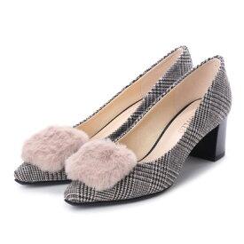 【アウトレット】アンタイトル シューズ UNTITLED shoes パンプス (ベージュファブリックコンビ)