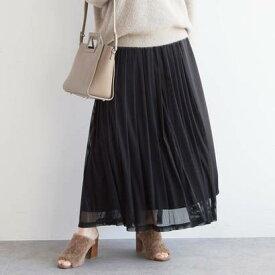 アクアガール aquagirl チュールラップスカート (ブラック)