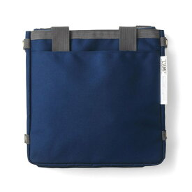 クラソ Kraso 大量の荷物を一気に運べる ググンと広がるビッグバッグ (ネイビー)