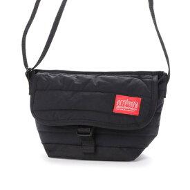 マンハッタンポーテージ Manhattan Portage Quilting Fabric Casual Messenger Bag (Black)