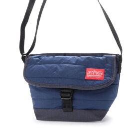 マンハッタンポーテージ Manhattan Portage Quilting Fabric Casual Messenger Bag (D.Navy)