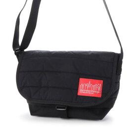 マンハッタンポーテージ Manhattan Portage Quilting Fabric Casual Messenger Bag JR (Black)
