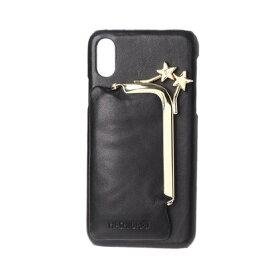 ハシバミ Hashibami Star Cap iPhonecase 【スター キャップ アイフォンケース】 ※iPhone X/XS 用 (ブラック)