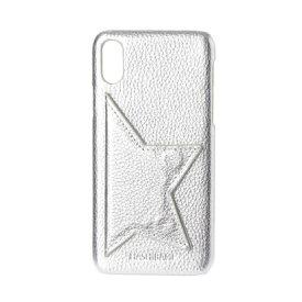 ハシバミ Hashibami Star Point iPhonecase 【スター ポイント アイフォンケース】 ※iPhone X/XS 用 (シルバー)