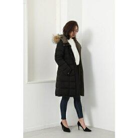 リエンダ rienda Reversible Stretch Down Coat (ブラック)